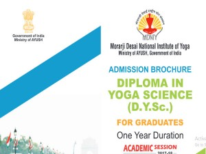 Mdniy Is Conducting Diploma In Yoga Science For Graduates