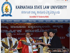 Karnataka State Law University One Year Llm Course Admissions