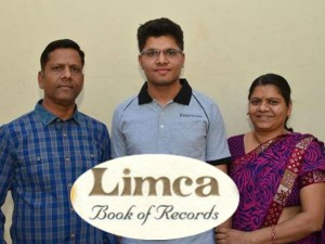 Jee Topper Kalpith In Limca Book Of Rercords