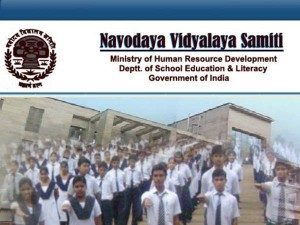 Admissions Notification For Jawahar Navodaya Vidyalaya