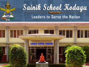 Kodagu Sainik School Admissions For Class 6 And 9