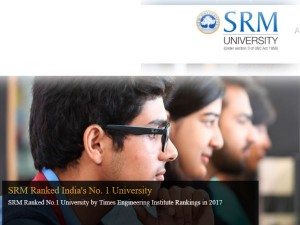 Srm University B Tech Course Admission Joint Entrance Exam