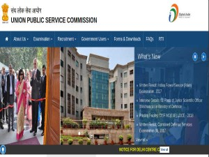 Upsc Ifs 2017 Main Examination Results Released