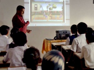 Operation Digital Board To All Government Schools