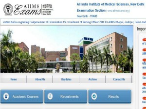 Aiims Mbbs 2019 Application Process Begins From Today