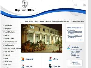Delhi High Court Jr Judicial Asst Interview Admit Card Relea