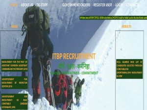 Itbp Recruitment 2019 For 121 Constable Gd Posts