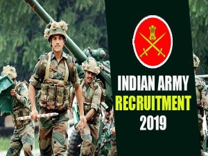 Indian Army Recruitment 2019 Interested Candidates Can App