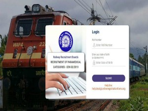 Rrb 2019 Dv Admit Card Rleased For Paramedical Staff Posts