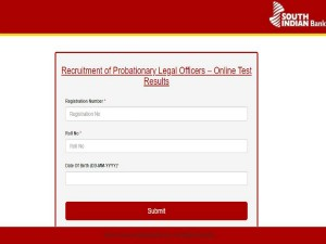 South Indian Bank Recruitment 2019 Results Released For Probationary Legal Officer Posts