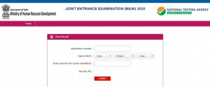 Jee Main Result 2020 Released