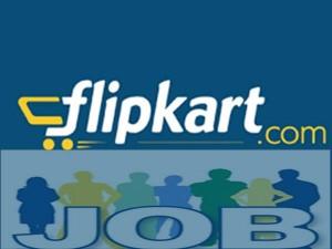 Flipkart Hiring 70 000 Direct Jobs For This Festive Season