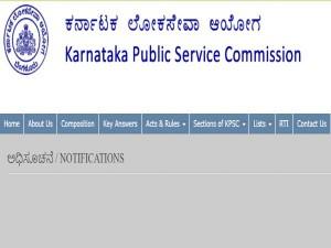 Kpsc Recruitment 2020 Apply For 24 Group A Acf Main Examination