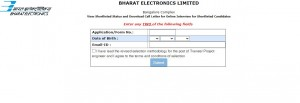 Bel Interview Admit Card 2021 Released For Engineer And Officer Posts