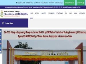 Mandya Pes Engineering College Recruitment 2021 For 10 Assistant Professor Posts