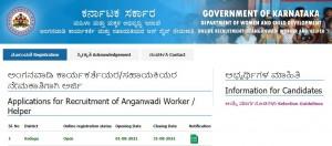Kodagu Wcd Recruitment 2021 For Anganawadi Worker Posts